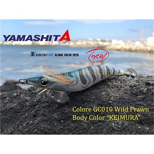 Yamashita Global Color EGI OH LIVE  3.0 15g col. GC010 Wild Prawn Body Color KEIMURA r