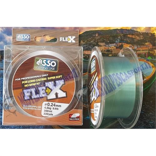Monofilo Asso Flex bobina da 300 mt