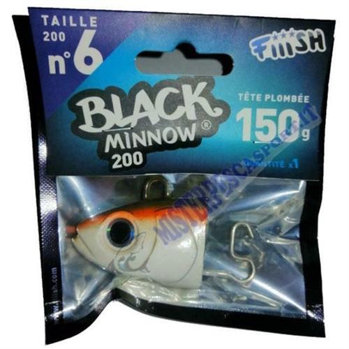 Testa Piombata Black minnow 200 n. 6 Med Deep  150g-