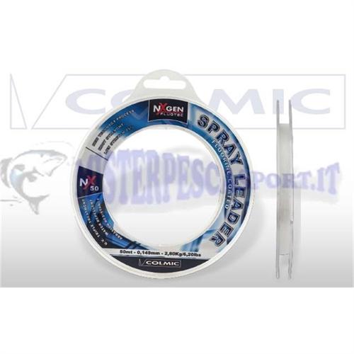 Monofilo Colmic Spray leader  fluorine coating-