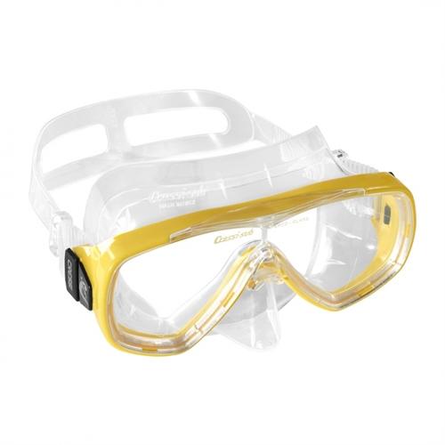 maschera cressi sub mod. onda-adulto colore yellow