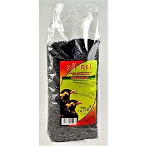 Mangime pastone granulare nero per insettivori
