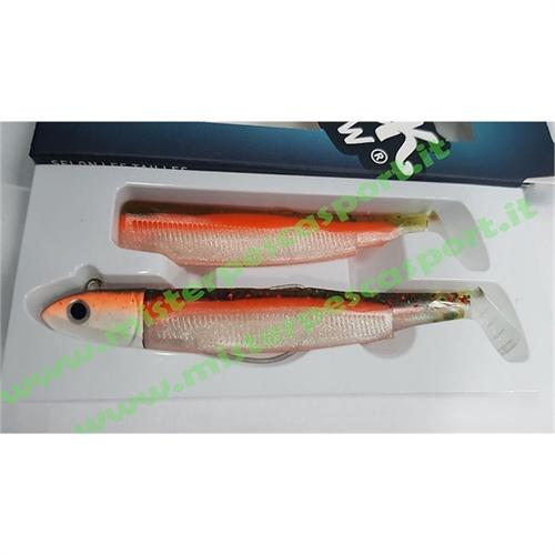 Black-Minnow-90 n.2  Combo OFF SHORE 10gr  col. CANDY GREEN, conf.Coda-3Pz -8