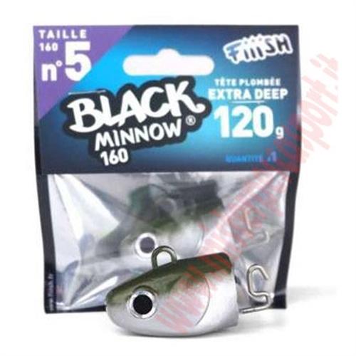 Testa di ricambio Fiish Black Minnow 160  Extra Deep 120g Col. KAKI R