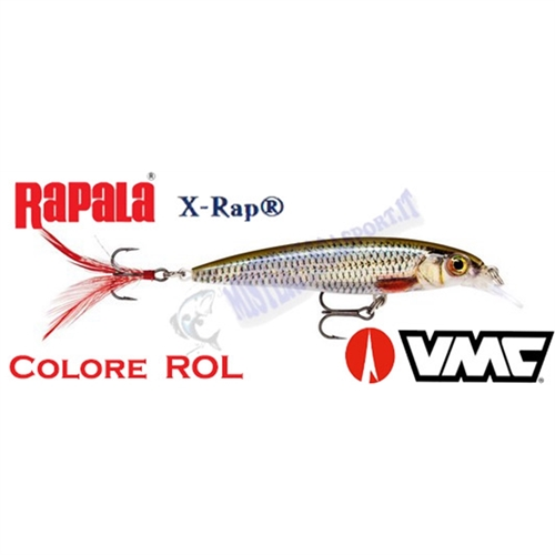 Artificiale RAPALA XRAP  XR 6-8-10 ROL-