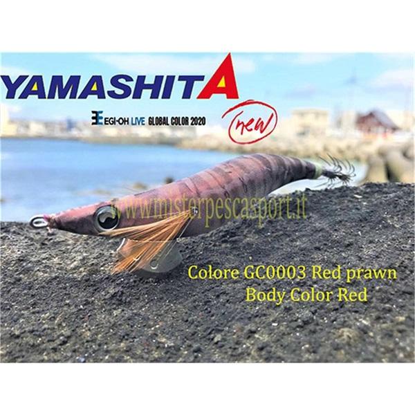 Yamashita Global Color EGI OH LIVE  3.0 15g col. GC003 Red Prawn r