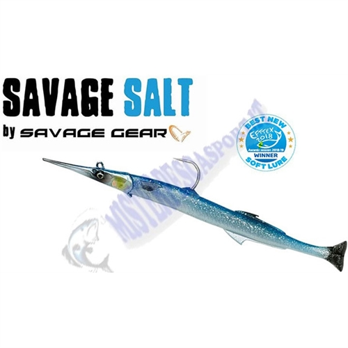 3D Savage Gear 69709 30cm 105g_2+1_Blue_Silver_