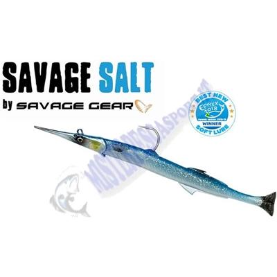 3D Savage Gear 69709 30cm 105g_2+1_Blue_Silver_