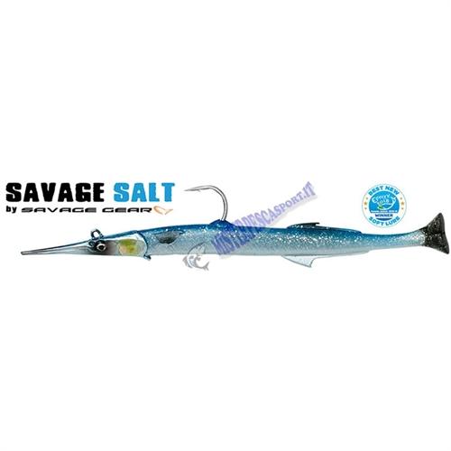 Aguglia  3D line True Needlefish pulsetail  Savage Salt  30cm 105g color Blue