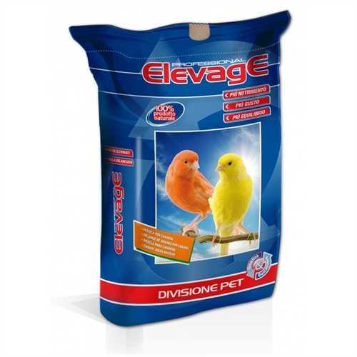 Miscela canarini Elevage Sicilia con perilla sacco da 20 nkg
